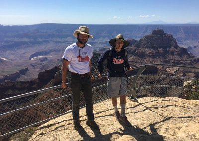 Andrew Flach and Rich Carr Keeping the Phaith at the Grand Canyon