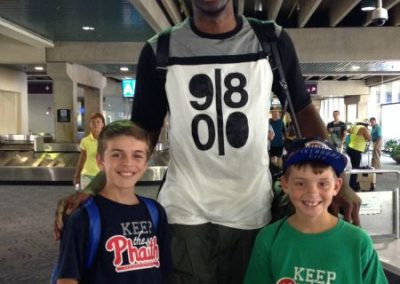 Ben and Teddy McGrath Keeping the Phaith with 76ers draft pick Joel Embiid