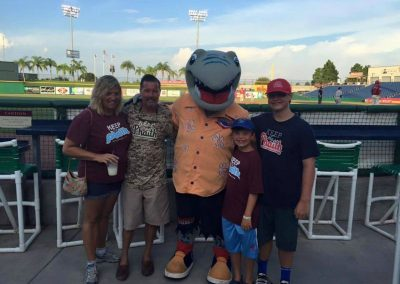 Conran Family Keeping Phaith at Spring Training 2016