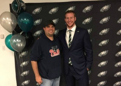 Craig Ecker Keeping the Phaith with Carson Wentz