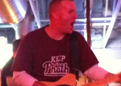 John O'Callahan lead singer of Jamison has Phaith