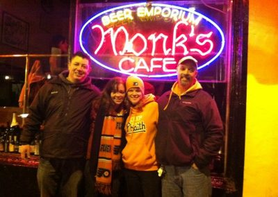 Keeping the Phaith at Monk's in Philadelphia