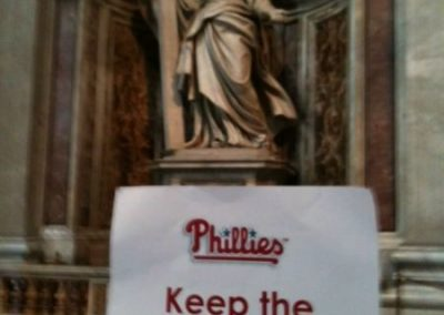 Keeping the Phaith at St. Peter's Basilica