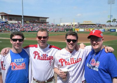 Keeping the Phaith at the 2012 Phillies Spring Training