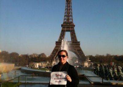 Keeping the Phaith at the Eiffel Tower