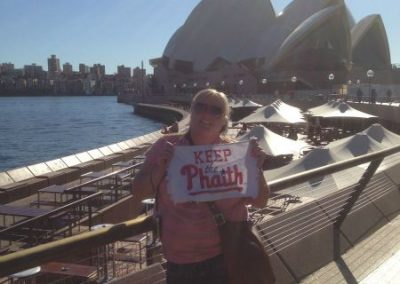 Keeping the Phaith in Sydney Australia