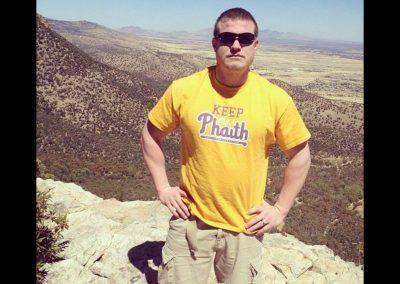 Kevin's cousin Matt Keeping the Phaith in Arizona
