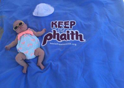 Lucy Givnish Keeping the Phaith on the Sea Isle Beach