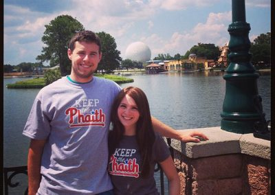 Matt Fisher and Cait Kinslow Keeping the Phaith in Disney World's Epcot
