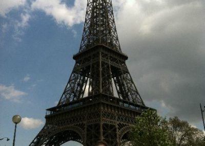 Maura Keeping the Phaith in Paris 2012