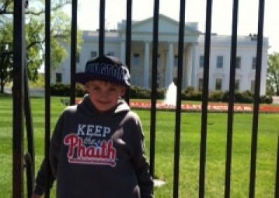 Max Emery Keeping the Phaith at the White House