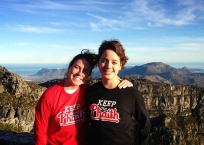 Sue and Alyssa Stever Keeping the Phaith in South Africa