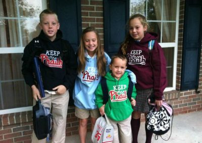 The Gillen kids Keeping the Phaith in Montgomeryville, PA
