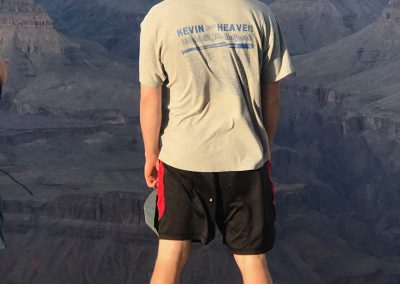 The Kahney's keeping the Phaith at the Grand Canyon 2019