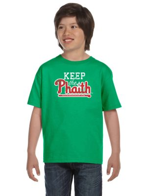 Youth Short Sleeve T-Shirt - Green - Front